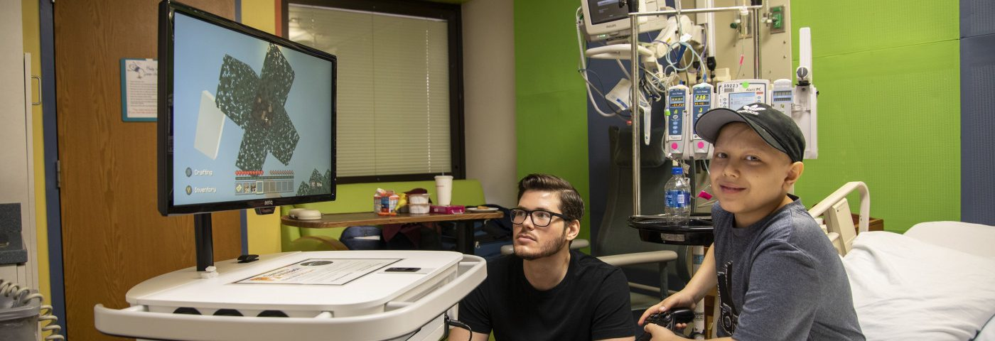 Video Games Connect Chronically Ill Children Isolated at Home, Hospital